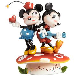 The World of Miss Mindy Mickey and Minnie Mouse Figurine, , large