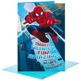"Spider-Man Pop Up Jumbo Birthday Card, 16"", , large"