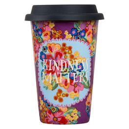 Natural Life Kindness Matters Thermal Mug, 12 oz., , large