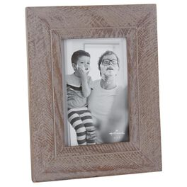 Criss-Cross Wood 4x6 Picture Frame, , large