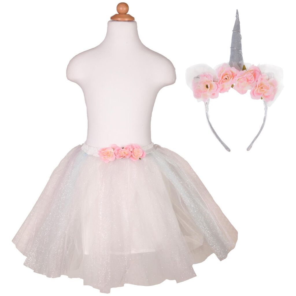 f9d9dda1aa5e8 Dress Up Unicorn Headband and Tulle Skirt - Dolls & Pretend Play ...