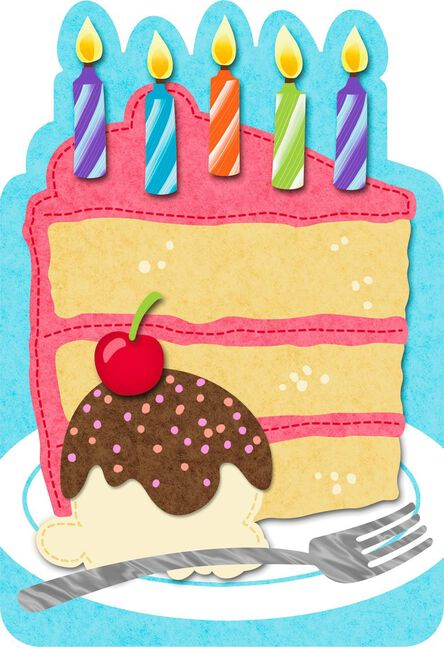 Slice of cake felt musical birthday card greeting cards hallmark slice of cake felt musical birthday card m4hsunfo