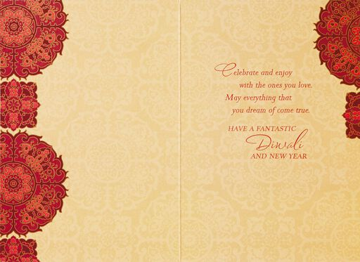 Beautiful Diwali Card,