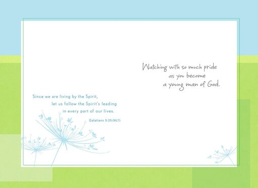 For Your Confirmation Godson Card,