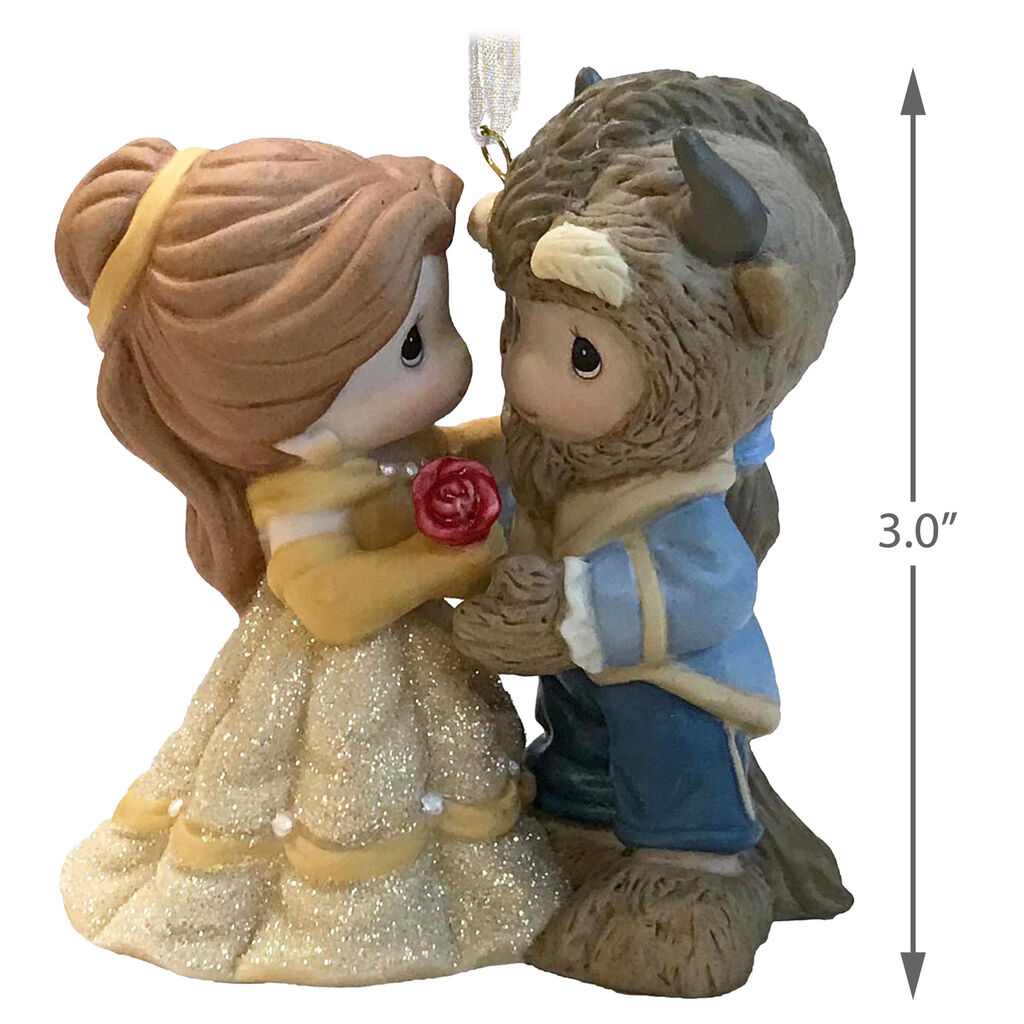 Disney Beauty And The Beast Belle And Beast Precious Moments