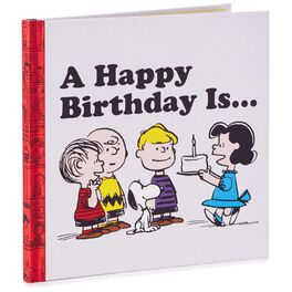 Peanuts® A Happy Birthday Is… Book, , large