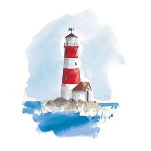Lighthouse on Coastline