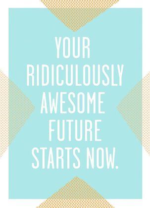 Ridiculously Awesome Future Congratulations Card