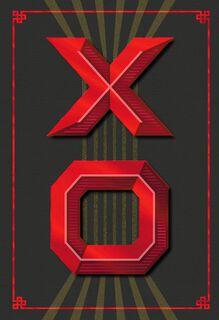 XO Paper Craft Romantic Valentine's Day Card,