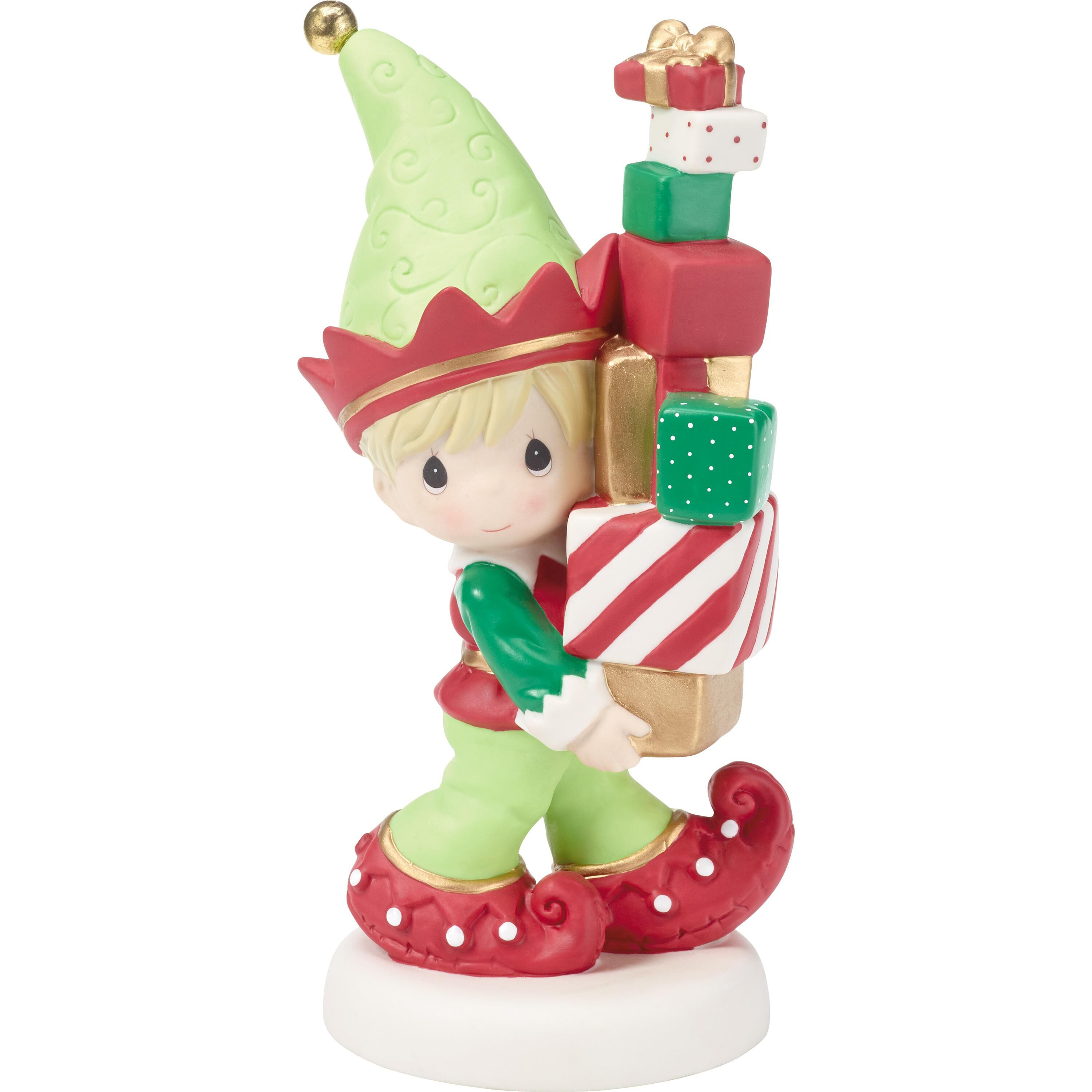 Precious Moments Bringing You Loads of Christmas Cheer Elf Figurine ...