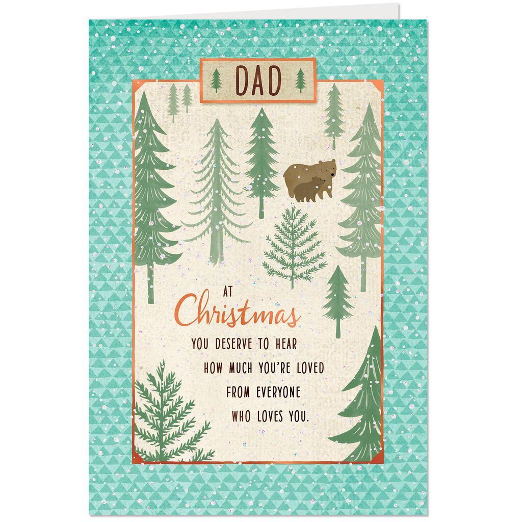 Love You Very Much Christmas Card for Dad - Greeting Cards - Hallmark