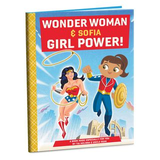 WONDER WOMAN™ Personalized Book,