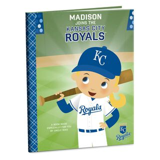 Kansas City Royals™ Personalized Book,