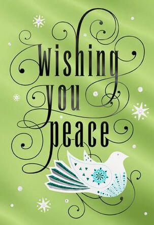 Holiday Dove Christmas Card