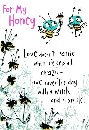 For My Honey Bee Mother's Day Card From Husband