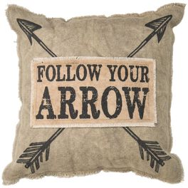Primitives by Kathy Follow Your Arrow Pillow, , large