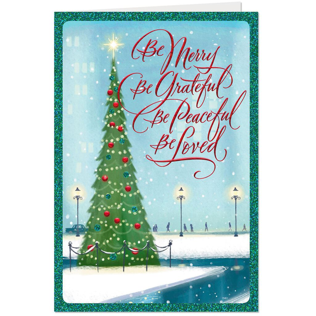 Blessed With God S Best Gifts Christmas Card Greeting Cards Hallmark