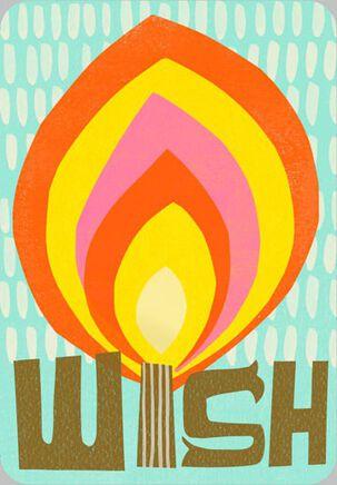 No Wish Too Big Birthday Card