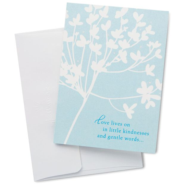 Cherry Blossom Sympathy Thank You Notes, Box Of 20 - Note Cards