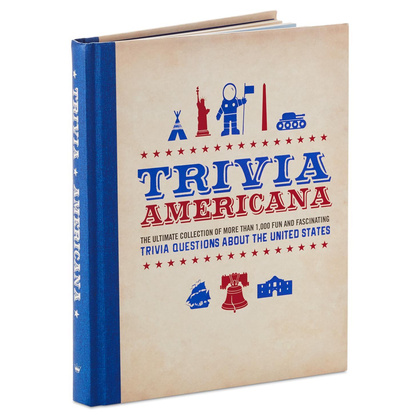 trivia americana book gift books hallmark