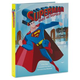 SUPERMAN™ Saves Metropolis Pop-Up Book, , large