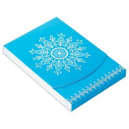 Medallion Snowflake Purse Notepad, , large