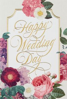 Celebrating Both of You Wedding Card,