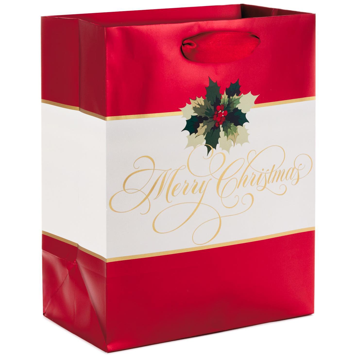 Classic Christmas Gift Wrap Collection - Gift Bags - Hallmark