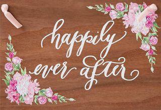 A Beautiful Life Wedding Card,