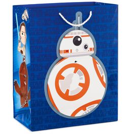 "Star Wars™: The Force Awakens™ BB-8™ Birthday Message Large Gift Bag, 13"", , large"
