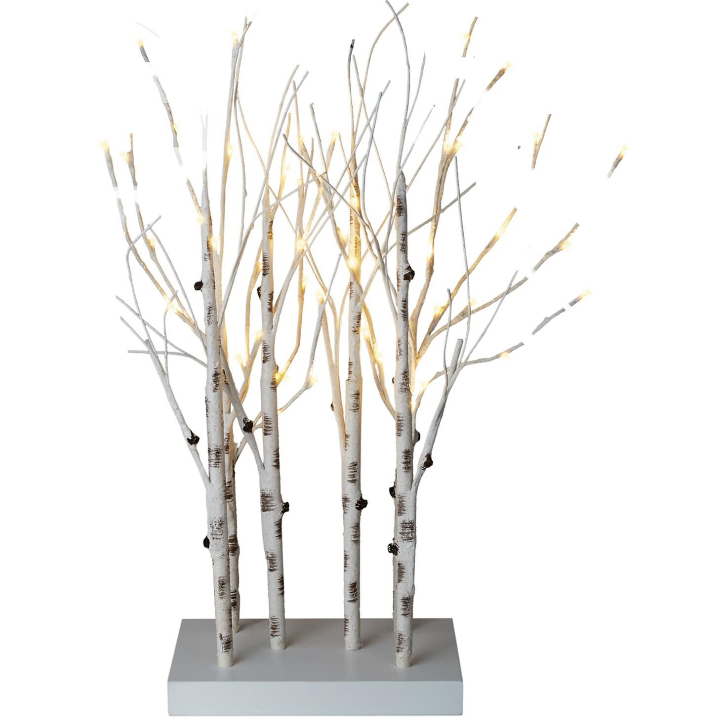 Birch Tree Branches Lighted Decor, 28\