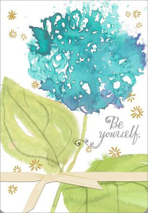 Be Yourself Encouragement Card