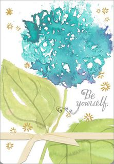 Be Yourself Encouragement Card,