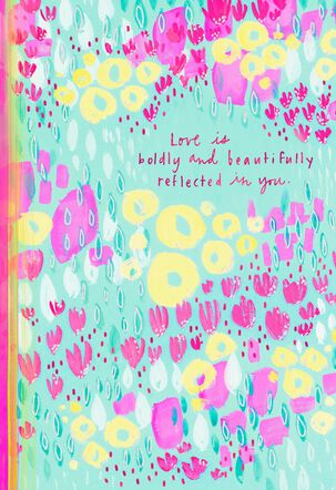Beautiful You Flower Easter Card for Goddaughter
