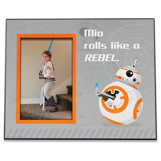 Star Wars™ BB8 Personalized 4x6 Picture Frame,