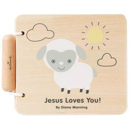 Jesus Loves You! Wood Lamb Book, , large