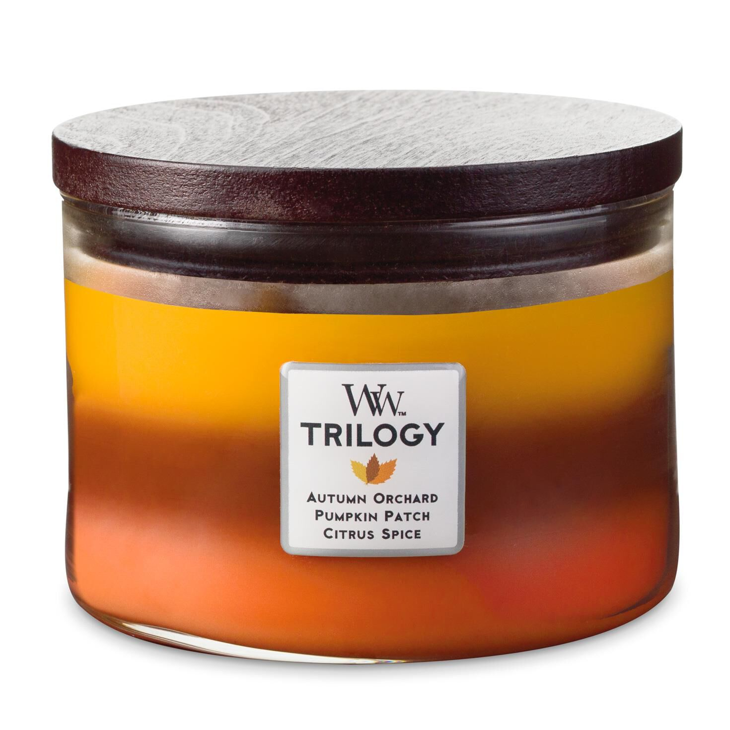 Woodwick 174 Trilogy 3 Wick Candle Autumn Bliss Candles