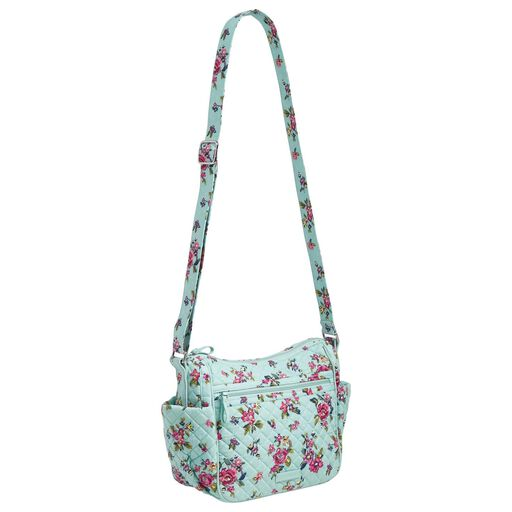 7accc82606f2 ... Vera Bradley Iconic On-the-Go Crossbody Bag in Water Bouquet