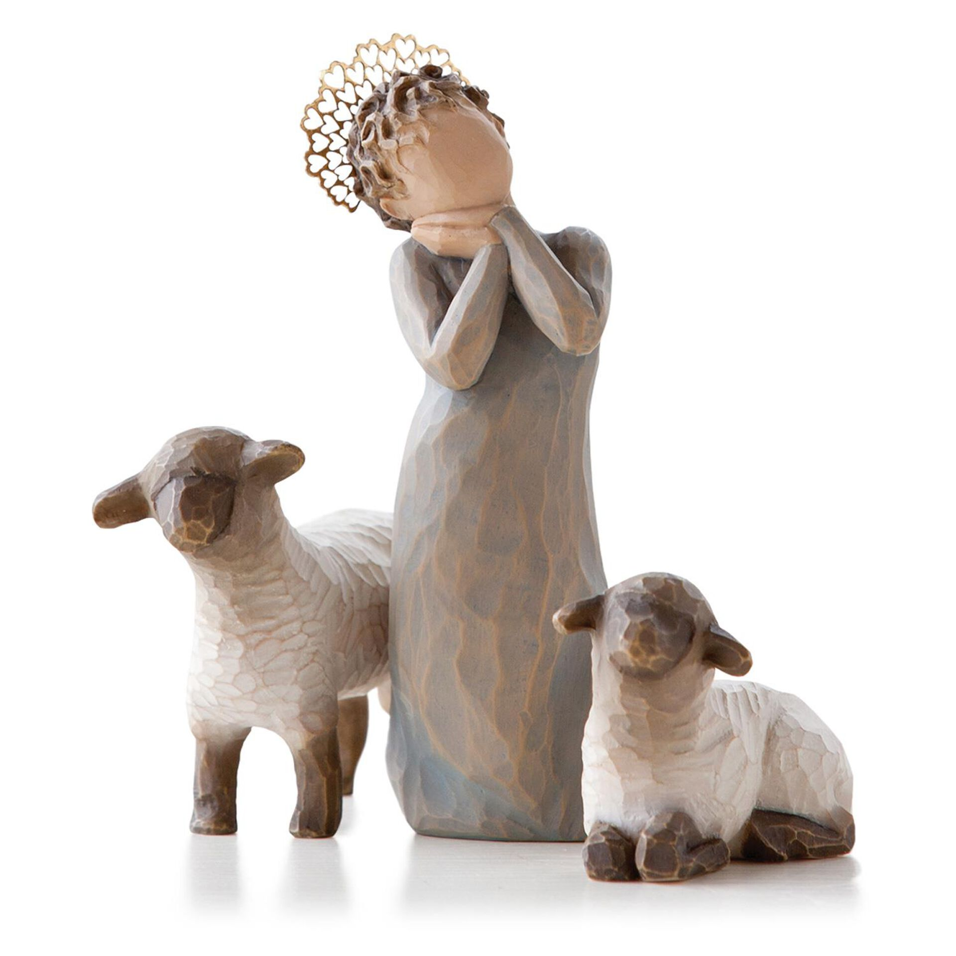 Willow Tree Little Shepherds Nativity Figurines Figurines Hallmark
