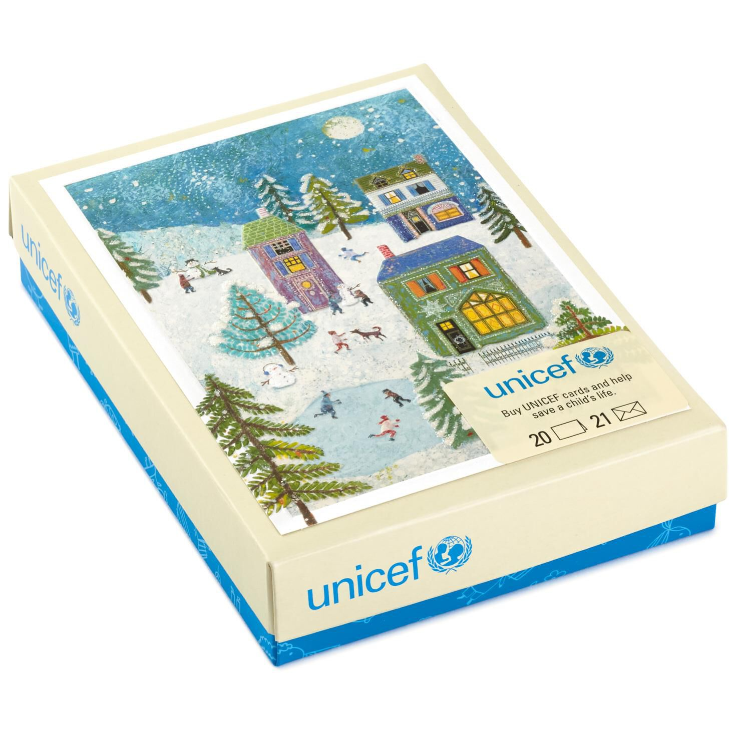 hallmark unicef soaring dove christmas cards box of 20 the paper ...