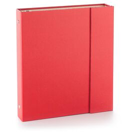 Snippets & Stories Red Scrapbook and Photo Album, , large