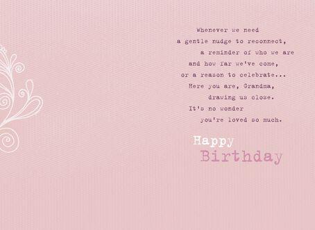 strong and beautiful grandma birthday card  greeting cards  hallmark, Birthday card