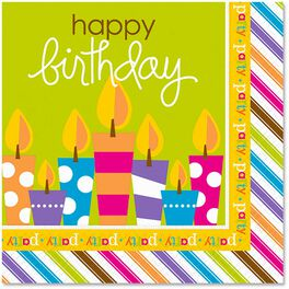 Birthday Surprise Lunch Napkins, Pack of 12, , large