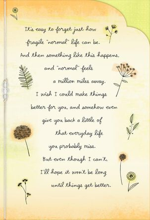 You Can Lean on Me Encouragement Card