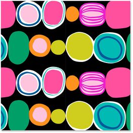 Colorful Circles Wrapping Paper Roll, 27 sq. ft., , large