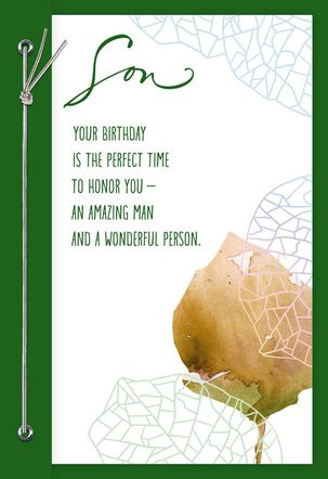 You're a Blessing Birthday Card for Son