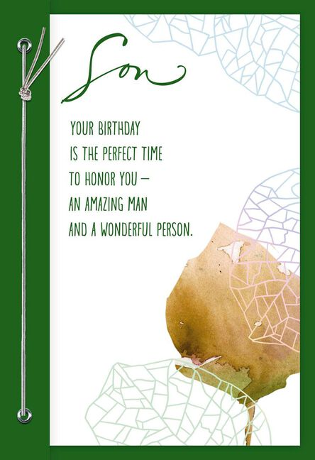 Youre A Blessing Birthday Card For Son