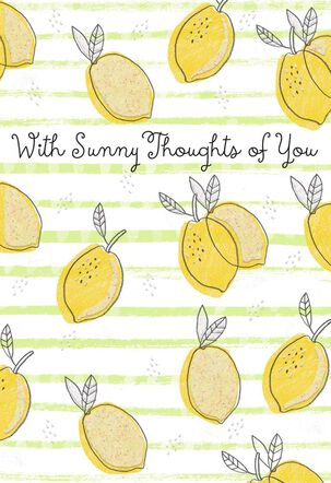 Tossed Lemons Friendship Cards, Pack of 10