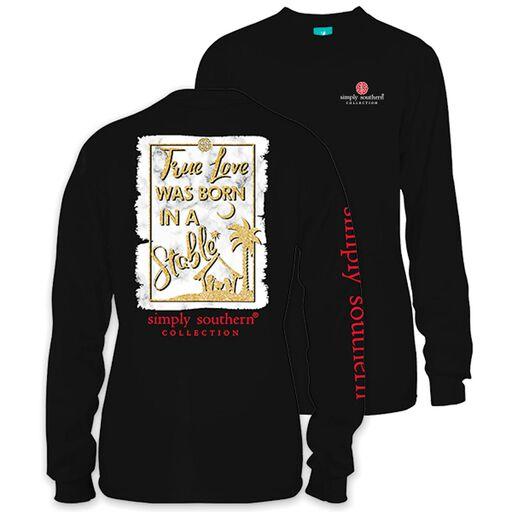 baaae89dcccd45 Simply Southern Women s True Love Long Sleeve T-Shirt