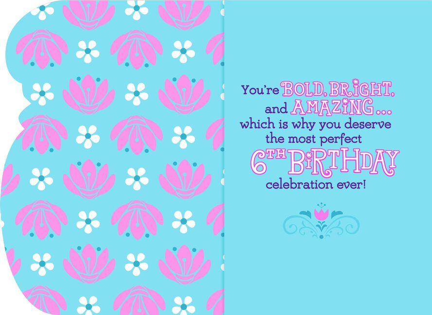 Disney Frozen Musical 6th Birthday Card Greeting Cards Hallmark